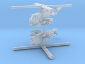1/285 AH-1Z Viper (x2) in Smooth Fine Detail Plastic