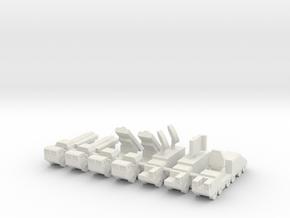 1/285 CJ-10 SSM in White Natural Versatile Plastic