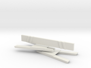 Sawhorses Takedown in White Natural Versatile Plastic