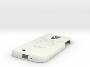 Samsung S4 Tiger  in White Strong & Flexible