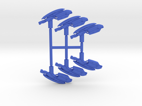 Plasma Assault Rifle Pack in Blue Processed Versatile Plastic