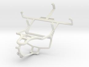 Controller mount for PS4 & ZTE Nova 3.5 in White Natural Versatile Plastic