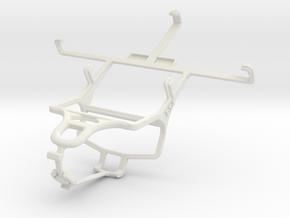 Controller mount for PS4 & ZTE Nubia Z5S mini NX40 in White Natural Versatile Plastic