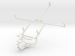 Controller mount for PS4 & ZTE V81 in White Natural Versatile Plastic