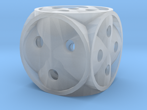 Dice136 in Smooth Fine Detail Plastic