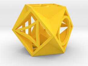 Dice139 in Yellow Processed Versatile Plastic