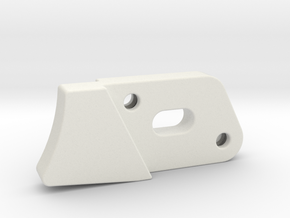 Trigger in White Natural Versatile Plastic