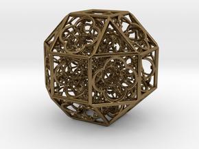 Hyper Geometry BB2 75mm Metal in Polished Bronze