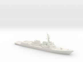 Arleigh Burke IIA (DDG-107 - DDG-112) in White Natural Versatile Plastic: 1:600