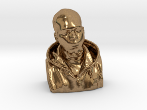 Knowble Nephew in Natural Brass