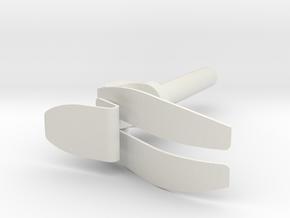 FOOT-PROSTHETIC LEG in White Strong & Flexible