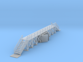 Inspection Walkway Z Scale in Smooth Fine Detail Plastic