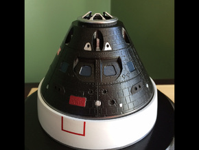 Orion Crew Module 1:48 in Frosted Ultra Detail