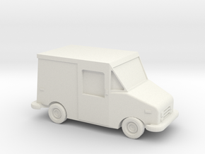 1/87 1987-1994 Grumman LLV in White Natural Versatile Plastic