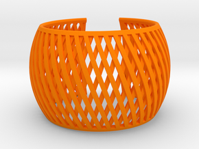 Bracelet Brace line  in Orange Processed Versatile Plastic