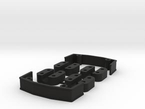 Zmr250 Spacers Kit V3 in Black Natural Versatile Plastic