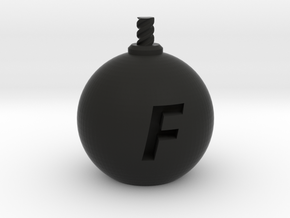 F-Bomb - Medium in Black Strong & Flexible