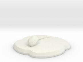 Chibipool in White Natural Versatile Plastic