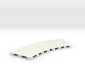 P-65stp-curve-road-only-145r-pl-1a in White Natural Versatile Plastic