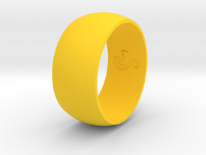 Ring Of Life in Yellow Processed Versatile Plastic