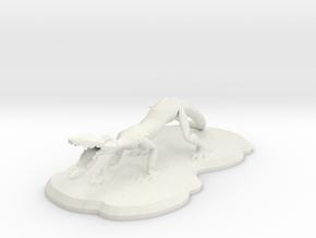 Crackus in White Natural Versatile Plastic