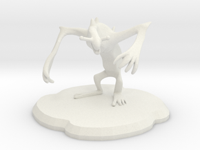 Meanion Figure in White Strong & Flexible