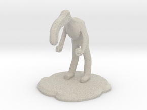 Amiably Nuetral Figure in Natural Sandstone
