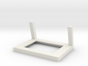 Frame for Shapeways Full Color Photoshaper in White Natural Versatile Plastic