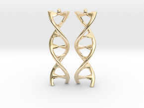 DNA Earring in 14K Yellow Gold