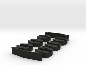 Grasshopper 300FPV Spacers set in Black Strong & Flexible
