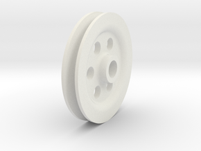 FLYWHEEL-1 in White Strong & Flexible