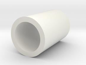 BUSH-FLYWHEEL 1 in White Natural Versatile Plastic