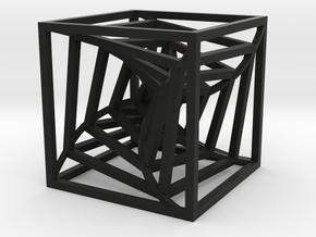 Squares in Black Natural Versatile Plastic