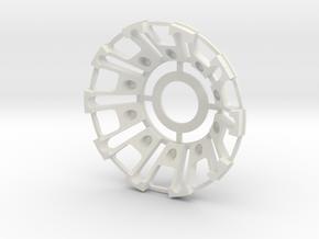 Iron man internal arc part in White Natural Versatile Plastic