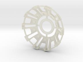 Iron man internal arc part in Transparent Acrylic