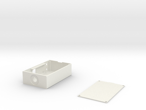 SX350 box enclosure in White Natural Versatile Plastic