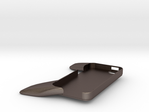 iController for iPhone5 in Polished Bronzed Silver Steel
