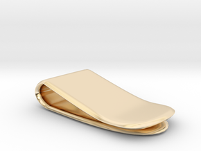 Money Clip in 14K Gold