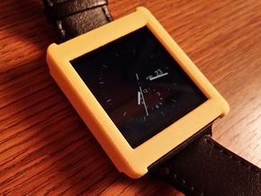 LG G Watch Case in Yellow Strong & Flexible Polished
