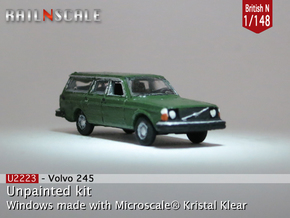 Volvo 245 DL (British N 1:148) in Smooth Fine Detail Plastic