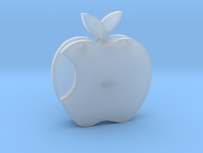 Apple Sculpture in Smooth Fine Detail Plastic