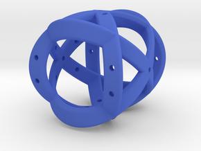 Dice150 in Blue Processed Versatile Plastic