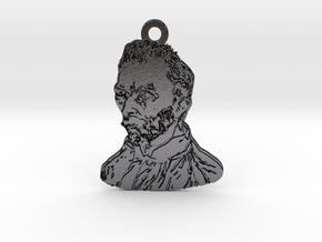 Van Gogh in Polished and Bronzed Black Steel