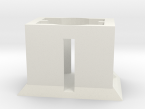 Powder Packet Stand (shop test) in White Strong & Flexible
