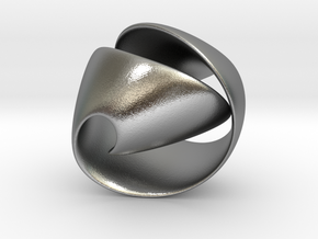 Knot 03 in Natural Silver