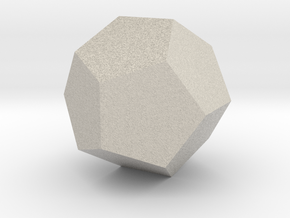 Dodecahedron in Natural Sandstone