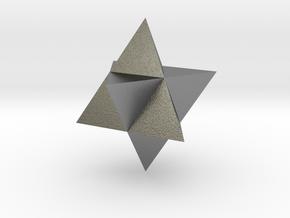 Star Tetrahedron (Merkaba) in Natural Silver