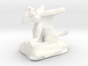 Pseudodragon Companion for Ranger or Warlock in White Processed Versatile Plastic