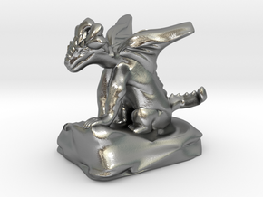 Pseudodragon Companion for Ranger or Warlock in Natural Silver