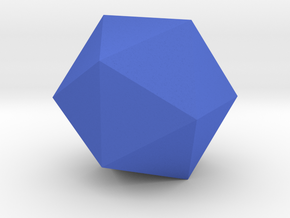 Icosahedron in Blue Strong & Flexible Polished